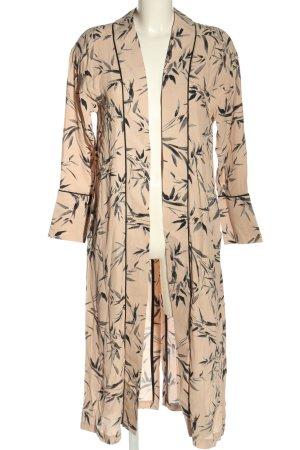 Topshop Frock Coat pink-light grey allover print casual look