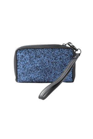 Topshop Geldbörse blau-schwarz Casual-Look