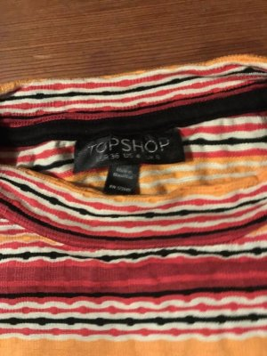 Topshop Neckholder Top multicolored viscose