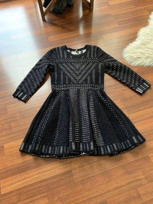 Topshop Mini Dress black-white