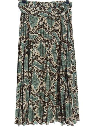 Topshop Glockenrock abstraktes Muster Casual-Look