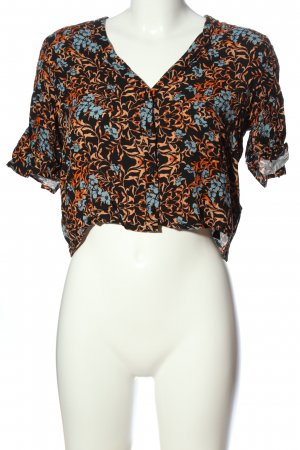 Topshop Hemd-Bluse Allover-Druck Casual-Look