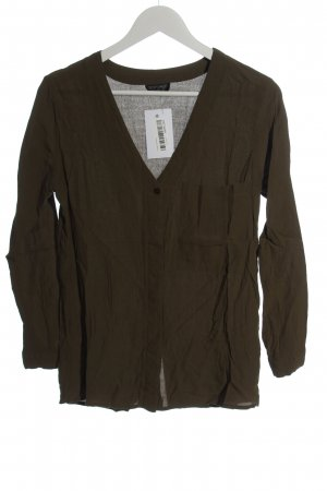 Topshop Hemd-Bluse khaki Business-Look