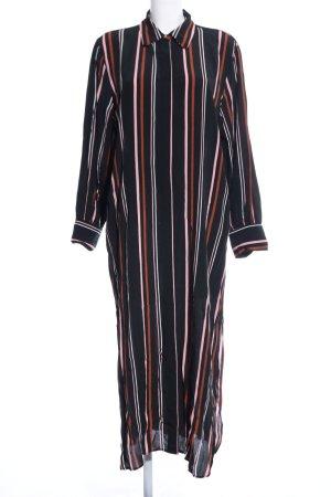 Topshop Shirtwaist dress striped pattern business style