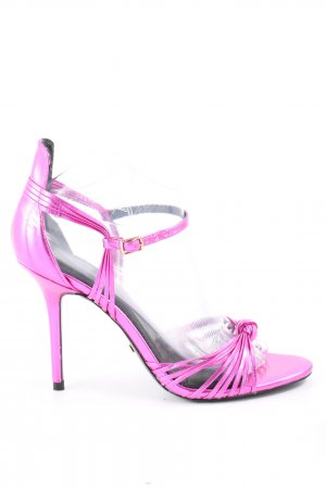 Topshop High Heel Sandaletten pink Elegant