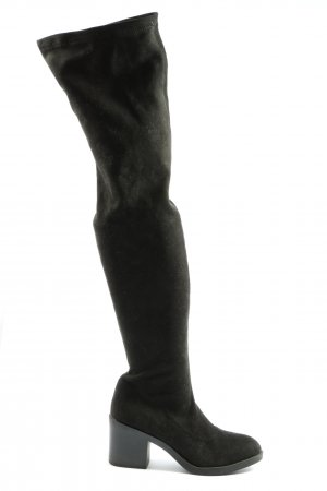Topshop High Heel Stiefel schwarz Elegant