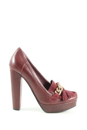 Topshop High Heels rot Casual-Look