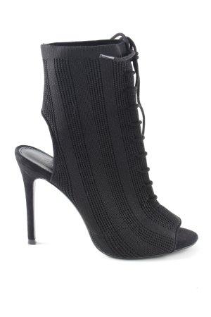 Topshop High Heels schwarz Casual-Look