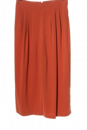 Topshop High-Waist Hose rot Casual-Look