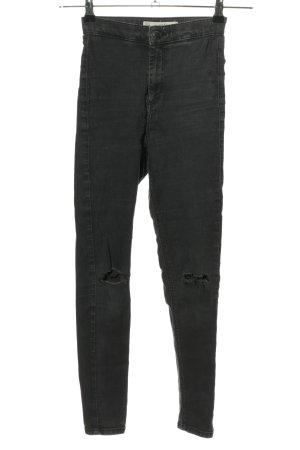 "Topshop High Waist Jeans ""Topshop Moto Joni"" hellgrau"