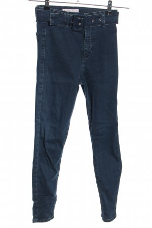 Topshop High Waist Jeans blau Casual-Look