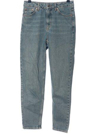 Topshop High Waist Jeans blue casual look