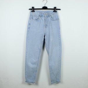 Topshop Hoge taille jeans blauw Katoen