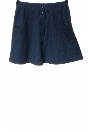 Topshop High Waist Rock blau Casual-Look