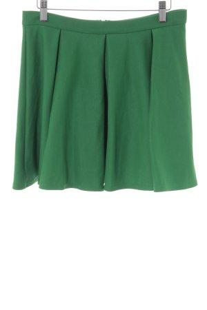 Topshop High Waist Rock grün Casual-Look