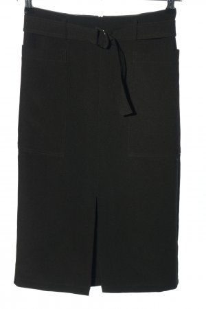 Topshop High Waist Rock schwarz Casual-Look