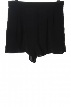 Topshop High-Waist-Shorts schwarz Casual-Look