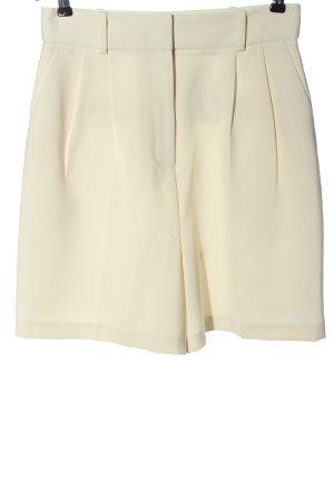 Topshop High-Waist-Shorts wollweiß Casual-Look