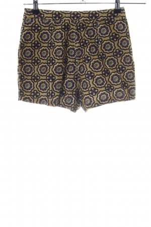 Topshop High-Waist-Shorts braun Allover-Druck Elegant