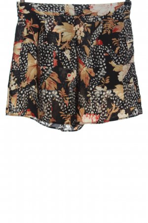 Topshop High-Waist-Shorts Allover-Druck Casual-Look