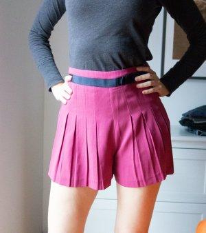 Topshop Highwaisted Shorts Plissée Pink Rosa Gr. 38