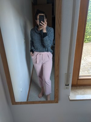 Topshop 7/8 Length Trousers pink