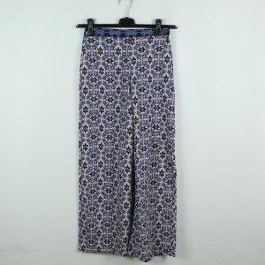 Topshop Petite Pantalon Marlene multicolore polyester