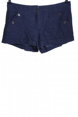 Topshop Hot Pants blau Casual-Look