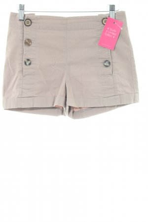 Topshop Hot Pants braun Casual-Look
