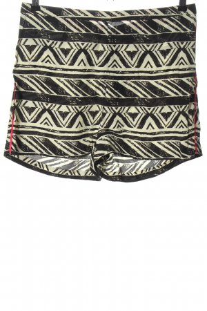 Topshop Hot Pants Allover-Druck Casual-Look