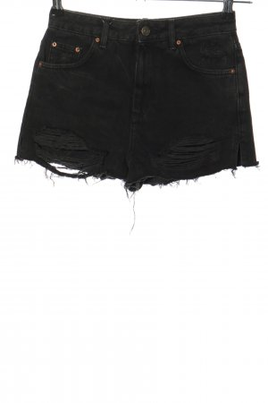 Topshop Hot Pants schwarz Casual-Look