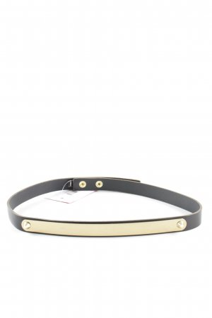 Topshop Hip Belt black-gold-colored elegant