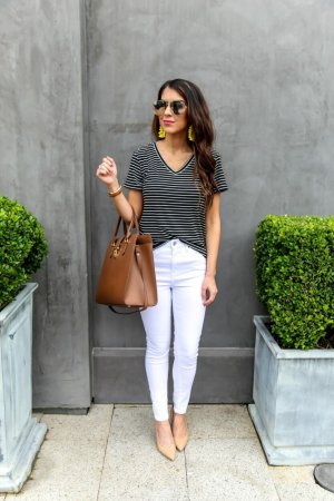 Topshop Jamie Ankle High Waist Jeans Neu Weiß Gr. 36 Sommer Blogger Influencer