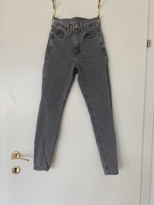 Topshop Jamie Jeans grau