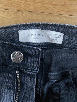 Topshop Jamie Jeans grau M