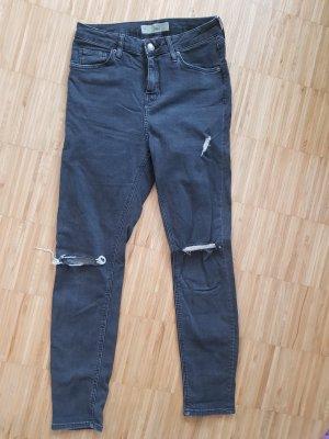 topshop jamie Jeans im used look