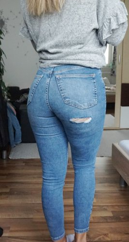 Topshop Jeans Jamie Back Ripped