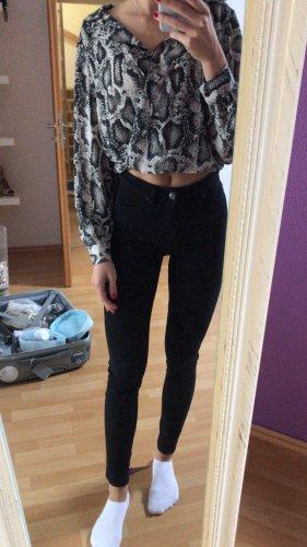 Topshop Jeans cigarette noir