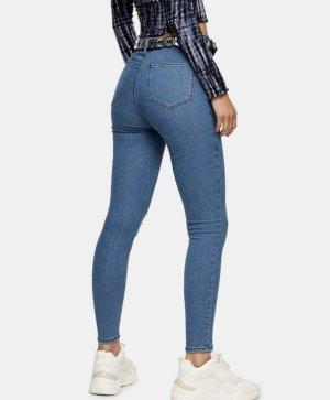 Topshop High Waist Jeans azure