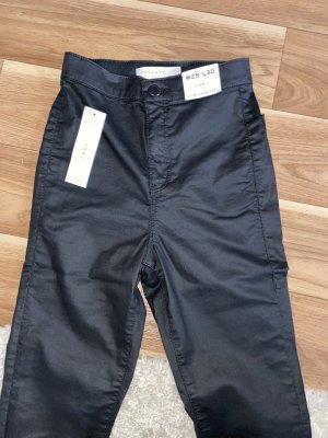 TopShop Jeans Lederoptik 25/30