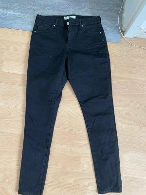 Topshop Skinny jeans zwart