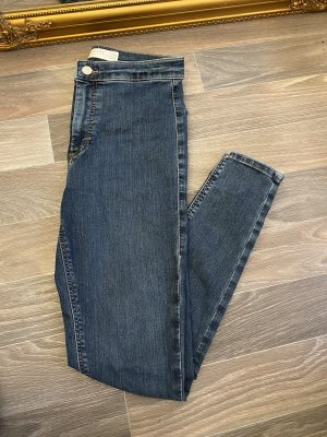 Topshop Skinny jeans blauw-donkerblauw
