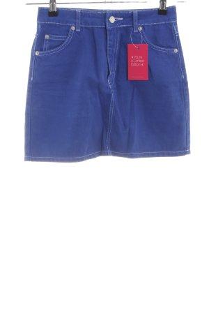 Topshop Jeansrock blau Casual-Look