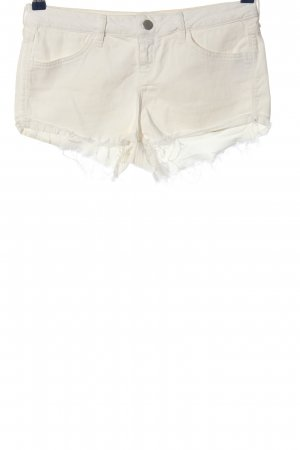 Topshop Jeansshorts wollweiß Casual-Look