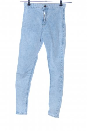 Topshop Jeggings blau Casual-Look