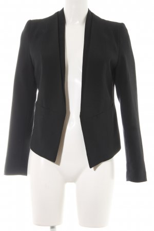 Topshop Jerseyblazer schwarz Business-Look