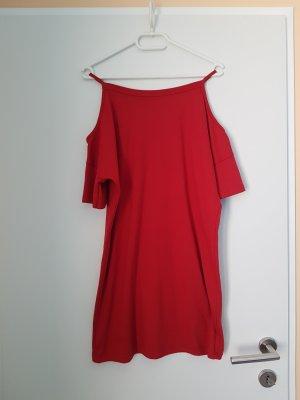 Topshop Jersey Dress red