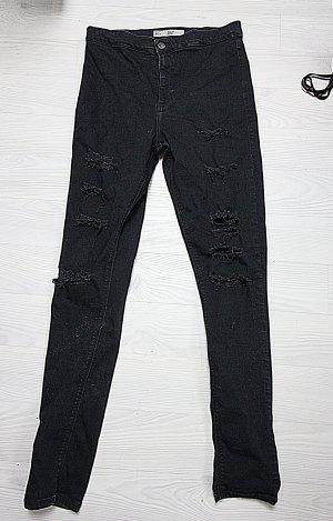 Topshop High Waist Trousers black