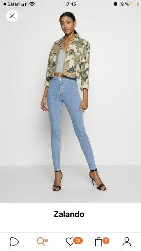 Topshop joni Jeans blau