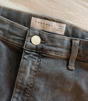 Topshop JONI Jeans / Jeggings super Skinny High waist grau